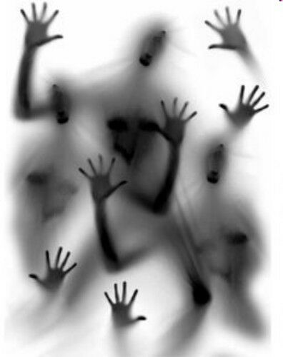 Wall  Home Party Office Ghosts Hands Shadows halloween Decoration Cling Decal