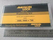 American Padlock Repinning Kit Re Keying And Service Kit Locksmith Pinning Tool