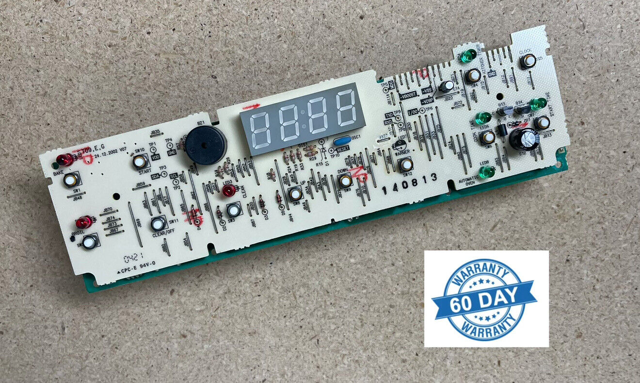 GE Oven Electronic Control Board 183D8193P002 Part # WB27K10097