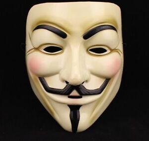 Details about V ...V For Vendetta Mask
