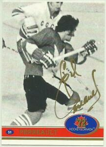 1991-92-FUTURE-TRENDS-CANADA-GILBERT-PERREAULT-SWIRL-039-72-GOLD-LETTERS-AUTOGRAPH