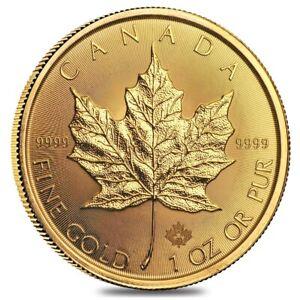 2020-1-oz-Canadian-Gold-Maple-Leaf-50-Coin-9999-Fine-BU