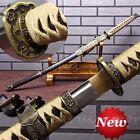 Japanese Sword Samurai Katana Carbon Steel Tachi Full Tang Blade