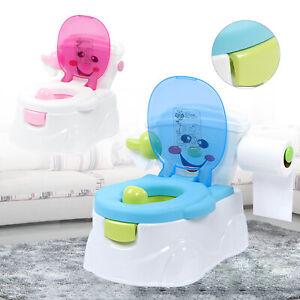 Kinder Töpfchen Baby Übungstöpfchen zum Üben Klo WC-Kinderaufsatz Toilettentrain