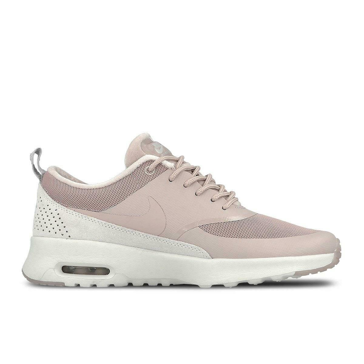 Womens NIKE AIR MAX THEA LX Rose Trainers 881203 600