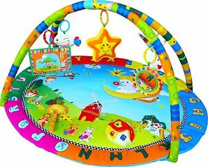 Baby Angel Play Mat Activity Gym Centre With Mirror,Music ...
