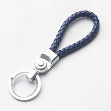 New Fashion Blue Key Chain Ring Keychain Men Women Gift For All Vehicles
