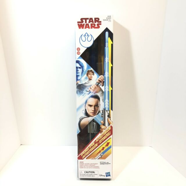 The Last Jedi Rey Sabre De Luz extensível Star Wars treinamento Jedi