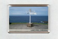 UK Fridge Magnet - Land's End, Cornwall