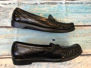 2f4ff3160fc SAS Tripad Comfort Foot Bed sz 8 women s Shoes Black Patent Leather ...