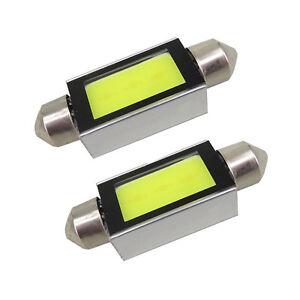 2x-Xenon-White-36mm-6418-C5W-4W-LED-Bulb-For-Car-COB-LED-License-Plate-Light-12V