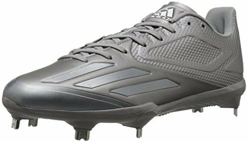 Adidas Men's Freak X Carbon Mid Baseball shoes, Light Onix Aluminum White, (7.5 M