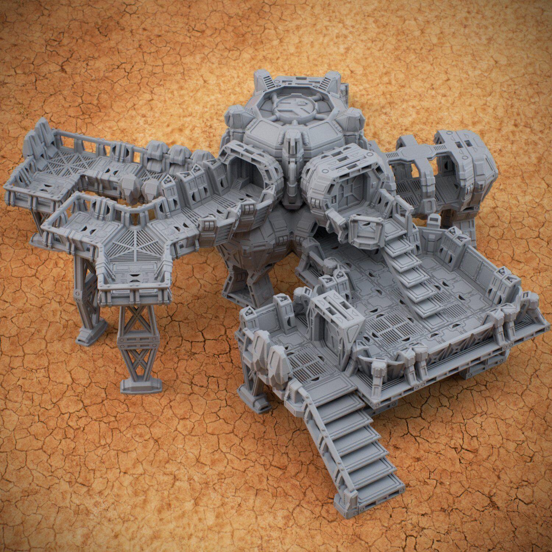 28mm Modular  Sci-Fi Outpost  Acheron  più preferenziale