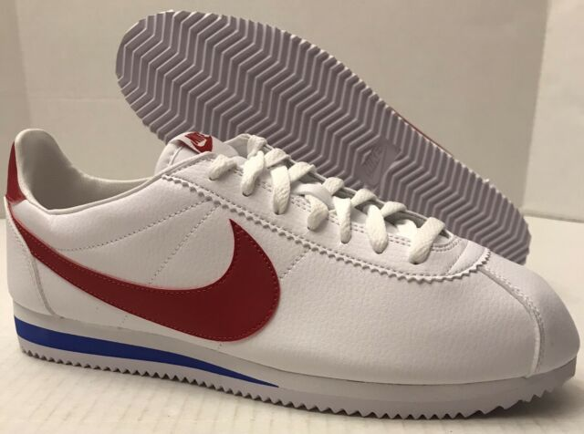 Nike Classic Cortez Leather Forrest Gump Men Lifestyle Casual SNEAKERS  White 11