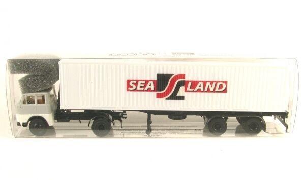 Henschel HS 16 TS 40ft Container-Sattelzug  - Sealand