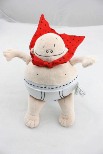 Captain Underpants Merry Makers 8 inch Soft Plush Toy Stuffed Figure Doll USA