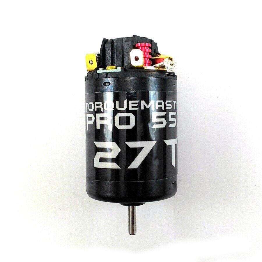 Holmes Hobbies TORQUEMASTER PRO 550 27T Motor for RC Crawlers  Axial Vaterra  Senza tasse