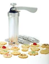 Norpro Cookie Press Icing Gun 20 Discs 4 Icing Tips Biscuits Spritz 3300