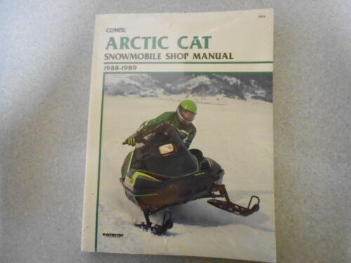 1 von 1 - Clymer Snowmobile Artic Cat 1988 - 1989 Shop manual Reparaturanleitung