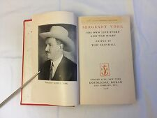 Sergeant York, His Own Life Story And War Diary WW1 WWI World War One Alvin York