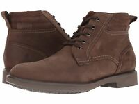 Men's Shoes Clarks Riston Edge Lace-up Casual Nubuck Boots 19626 Brown