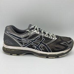 Asics Gel Nimbus 19 Gris/Plata entrenamiento Zapatillas para ...