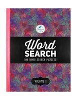Word Search: 100 Word Search Puzzles: Volume 1: A Unique Book W... Free Shipping