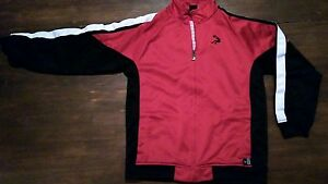 Shaquille-O-039-Neal-track-Jacket-Sz-XL-Youth-Basketball-Full-Zipper-warmup-SHAQ