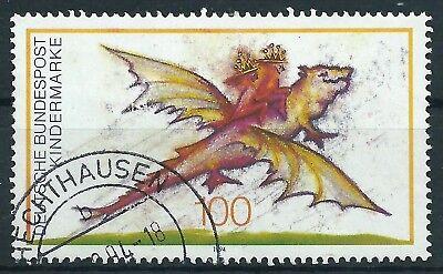 Gelernt B.2 - Brd Bund 1994 Für Uns Kinder Mi.1754 Post-/tagesstempel O.gummierung Luxus BüGeln Nicht