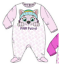 Baby-Boys-Girls-Character-100-Cotton-Sleepsuit-Babygrow-Pyjamas-Minnie-Mickey thumbnail 14