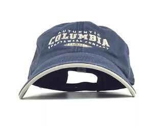 Image is loading Authentic-COLUMBIA-Sportswear-Company-Baseball-Cap-Hat-Adj- 97b3891f230