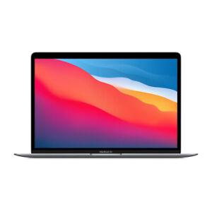 Apple MacBook Air (M1, 2020) MGN63D/A SpaceGrau Apple M1 Chip mit 8-Core CPU,