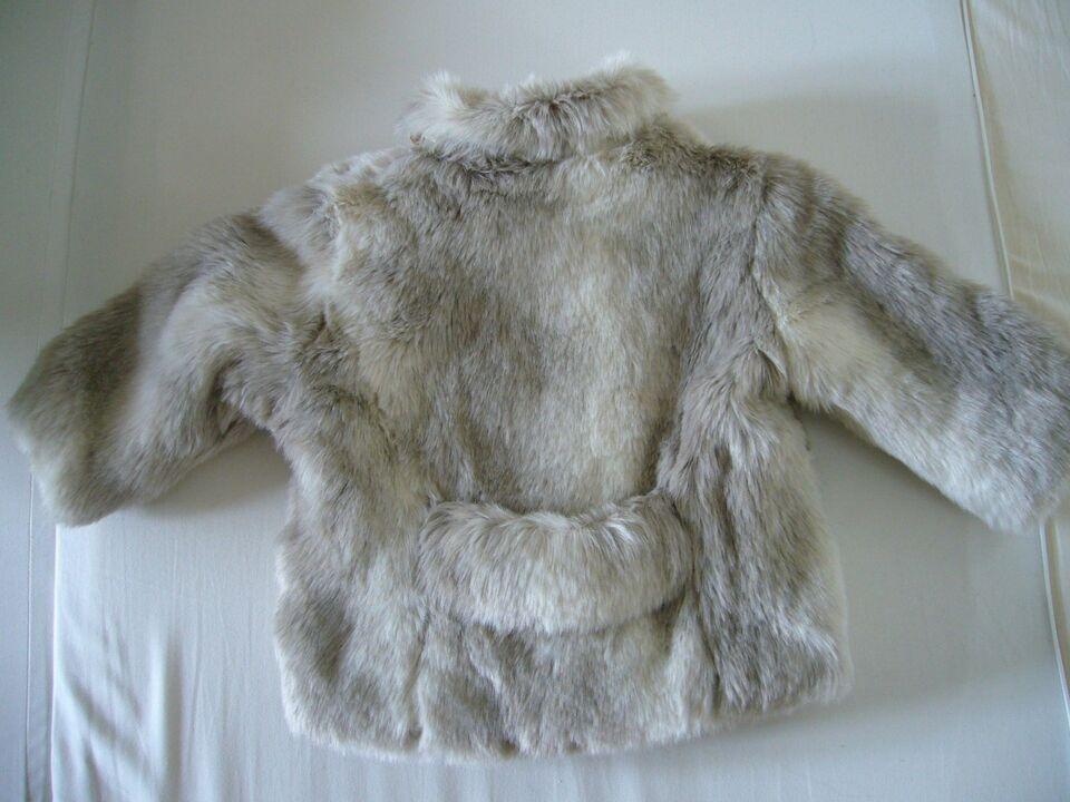 Jakke, Vintage-style jakke i kunstig pels, Rachel Riley