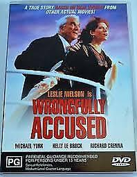 WRONGFULLY ACCESSED - DVD- REGION-4-LIKE NEW-FREE POST IN AUSTRALIA