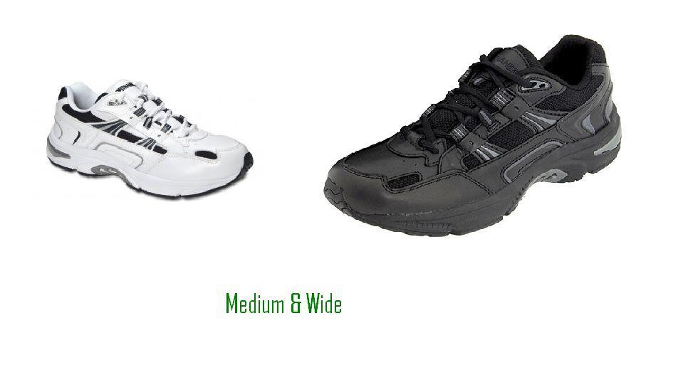 Orthaheel Walker Para Hombre Ortopédico footware 23mwalk Negro   blancoo En Azul Marino Talle 7-13 D e