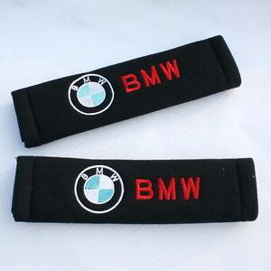 Seat Belt Seatbelt Shoulder Cover Pads Bmw M3 M5 M6 X1 X3 X5 X6 323i 330i 120i Ebay