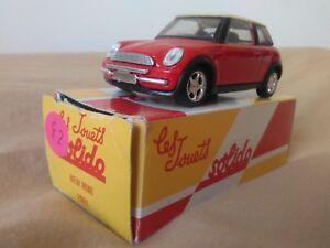 Miniatura-1-43-Solido-New-Mini-2001-Reedicion-Hachette-Francia