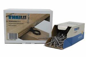 Terrassendielen Abstandshalter 4 mm inkl. Terrassenschrauben SpopaFix 5 x 50 mm