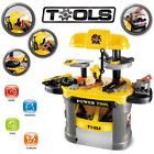 Educational Toy Kids Workbench Tools Pretend Play Set Toddler Workshop Tool Toys
