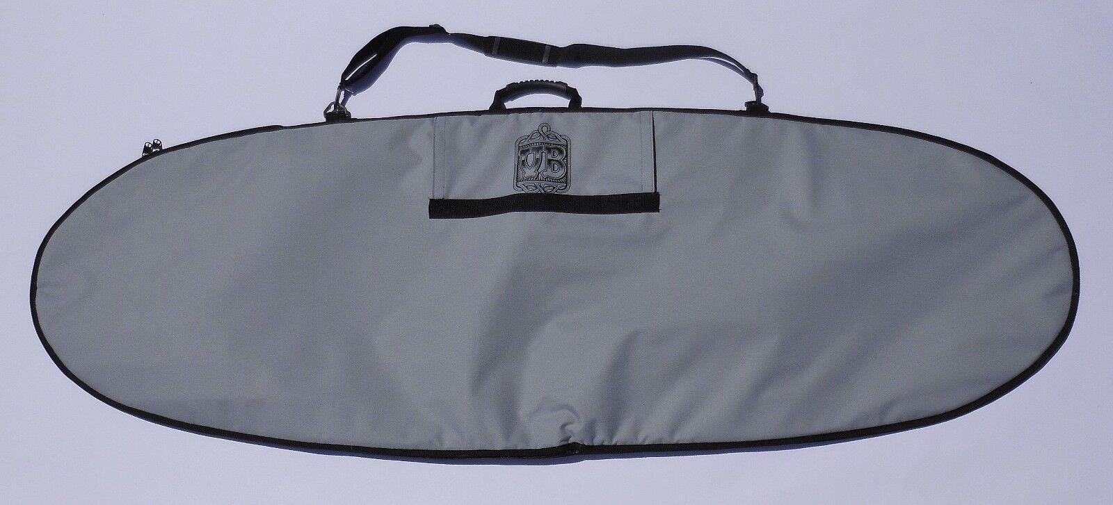 Vitamin bluee 6'6  x 26  Fish Bag (MADE in U.S.A.) by Vitamin bluee