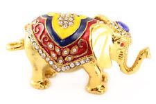 Big Elephant Jewelry Trinket Box Animal Collectible Elephant Thailand Gift 02055