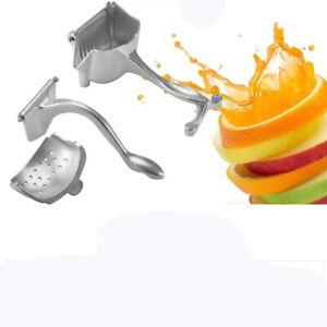 Manuelle-Entsafter-Handsaftpresse-Squeezer-Fruit-Lemon-Juicer-Extractor-Machine