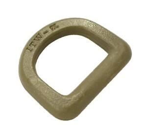 4-Unidades-Anilla-D-ring-20-mm-Tan-ITW-nexus