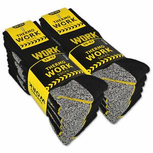 10-Paar-THERMO-Arbeitssocken-Innenfrottee-WORK-Herrensocken-Socken-Herren