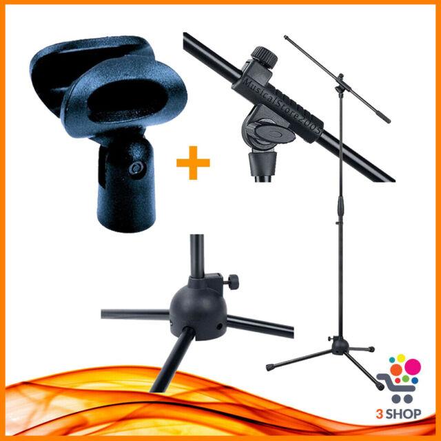 Porta microfono supporto con asta microfonica a giraffa orientabile per palmare