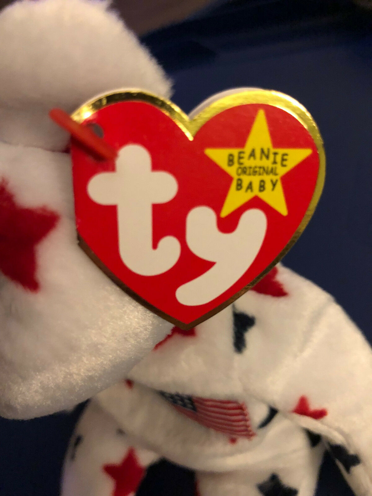 TY GLORY BEANIE BABY. MINT CONDITION. NEVER BEEN USED. RARE RARE RARE FIND 6786c1