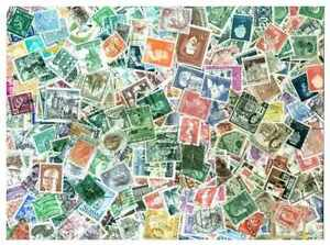 Western-Europe-Stamp-Collection-1000-Different-Stamps