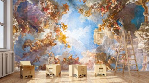 3D paradise angels 819 papier peint mur imprimé autocollant mural déco mur indoor murales