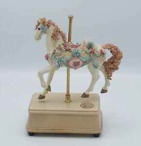 1993 San Francisco Music Box Carousel Horse Ashley Court Ltd Ed Ebay
