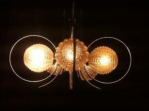 Mid-Century-Space-Age-Vintage-Ceiling-Lamp-pendant-Ufo-Light-Chromed-Glass-60s